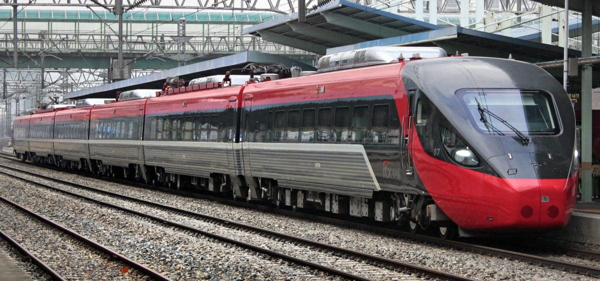 Korea ITX train
