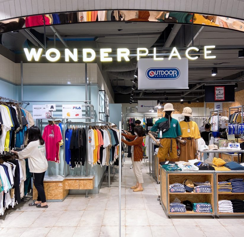 Korean fashion brand wonderplace