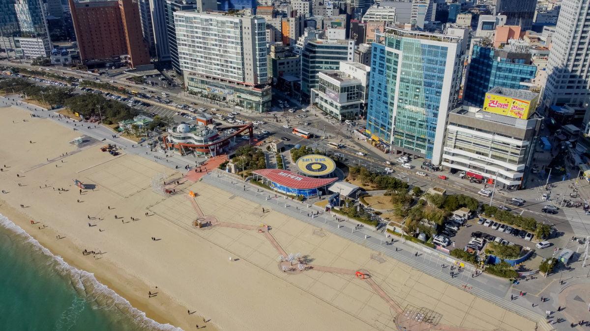 HaeundaeBeach Korea