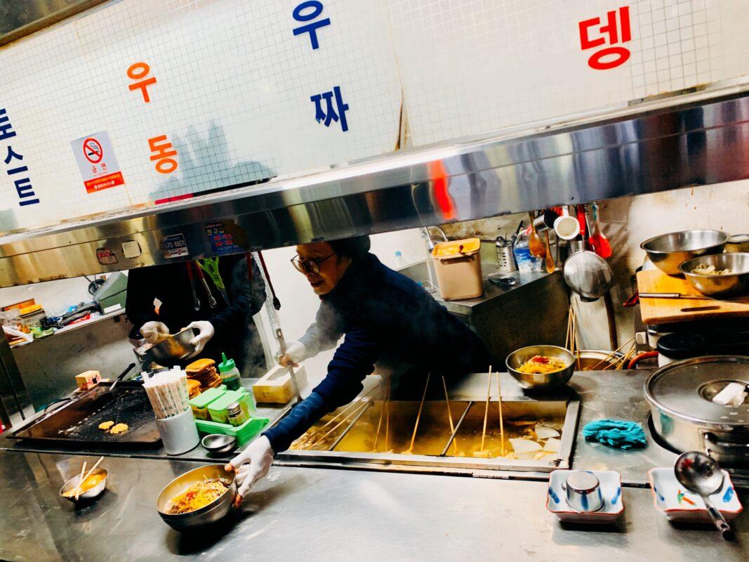 noodles in Tongyeong Korea