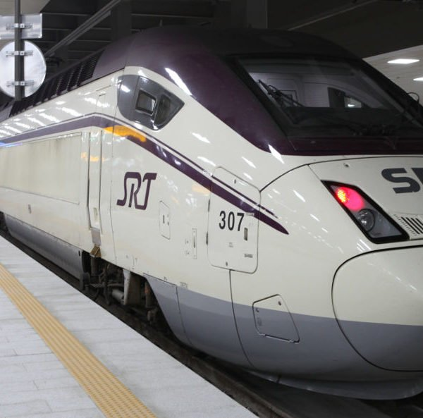 Korean SRT train