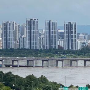 Han River flooding