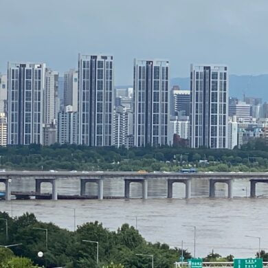 Han River flooding