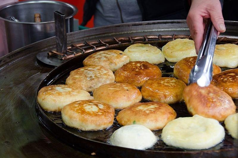 hotteok korean food
